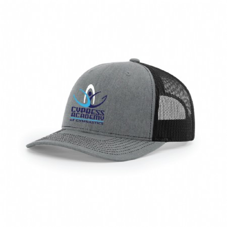 Richardson Snapback Trucker Cap Heather Grey/Black Tamina