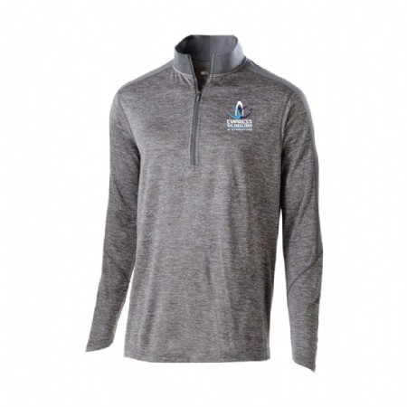 Electrify 1/2 Zip Pullover - Graphite Tamina