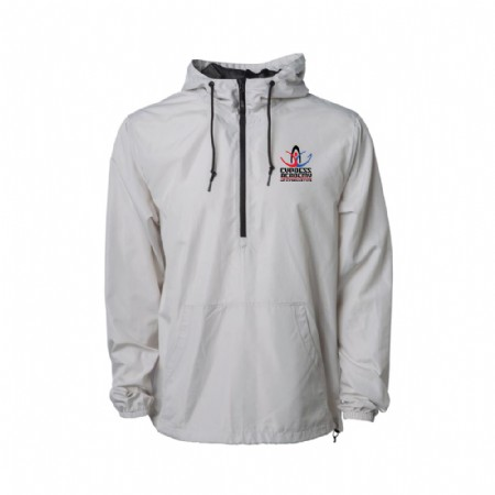 Independent Trading Co. Lightweight Windbreaker Pullover Jacket