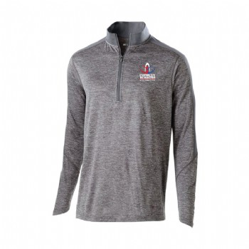 Youth Electrify 1/2 Zip Pullover - Graphite
