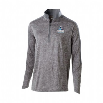 Youth Electrify 1/2 Zip Pullover - Graphite Tamina